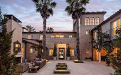 belle maison de luxe manoir