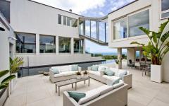 terrasse aménagé belle demeure de luxe auckland