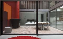 patio cour intérieure maison loft citadine