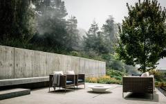 aménagement luxe patio résidence de standing