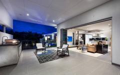 patio couvert avec superbe vue