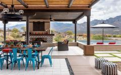 terrasse extérieure outdoor aménagements de luxe esthétique