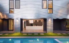 intérieur extérieur projet de maison unique individuelle luxe