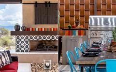 décoration extérieure influences hacienda mexico