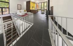 cuisine salle à manger maison étonnante d'architecte