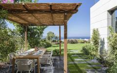 salon salle à manger en plein air maison côtière