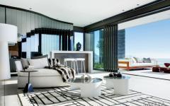 intérieur moderne et contemporain très design
