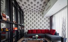 décoration intérieure maison d'architecte familiale