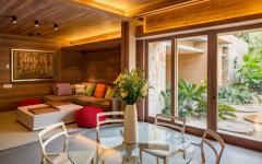 meuble de design intérieur rustique moderne