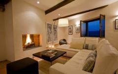séjour moderne maison de vacances