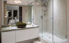 salle d'eau cabine de douche originale