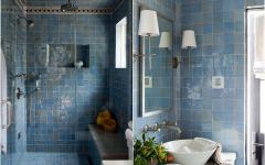 pièce de douche maison de luxe