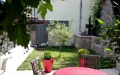table et jardin sympa loft industriel transformée