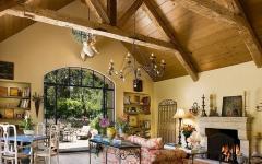 intérieur luxe bois authentique