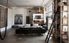 séjour pièce principale de vie loft créatif