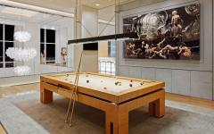 salle de billard luxe appartement de grand standing