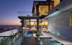 espace outdoor maison de luxe