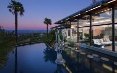résidence de grande standing avec vue splendide