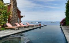 résidence de vacances piscine extérieure