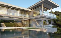 belle piscine extérieure luxe villa de rêve exotique