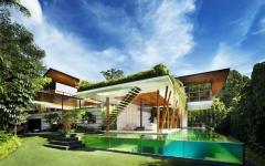 propriété éco durable architecture moderne