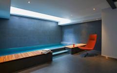 piscine intérieure maison de ville