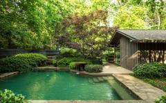 espace outdoor piscine nature