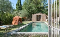 piscine extérieure maison de campagne