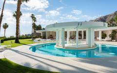résidence de luxe piscine patio