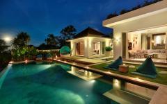 superbe piscine exotique villa