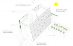 plan maison écologique passive flottante