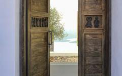 maison familiale de vacances à la côte mer Égée