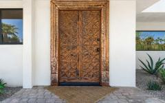 porte d'entrée luxe déco orientale
