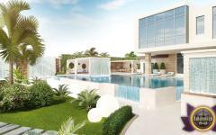 concept piscine luxe jardin oriental