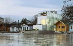 projet de maison flottante en kit écologique