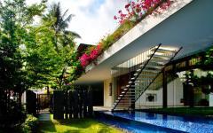 maison verdoyante écoresponsable architecture moderne
