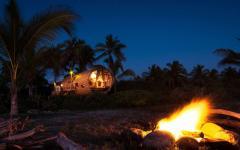 vacances exotique plage cabane bois mexique
