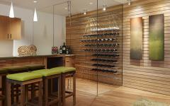 cellier à vins super luxe maison de standing