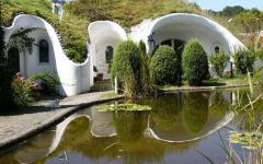 projet innovant écologique maisons vertes