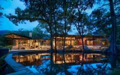 belle demeure ranch américain rustique