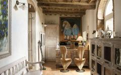 intérieur original belle demeure charme campagne