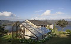 véranda design maison rustique