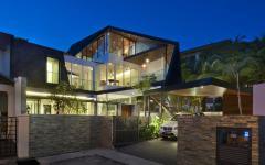 résidence rénovée citadine Singapour architecte