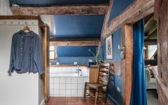 petite salle de bain créée maison de campagne ancienne