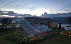 résidence secondaire dans la montagne