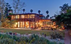 belle demeure rustique en Californie