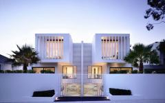 maison de ville mitoyennes modernes