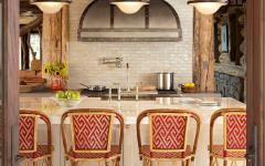 cuisine d'une maison de charme luxueuse