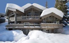 villa de ski courchevel alpes françaises