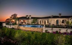 belle demeure de luxe piscine